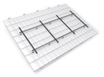 Roof fixing products used by UK installers to secure solar panels onto any property