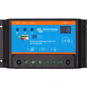 PWM light charge controller