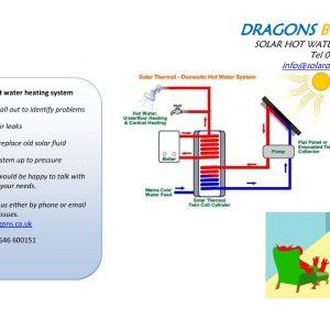 Solar heating repairs