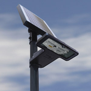 September 2017 Solar sign lighting