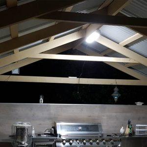 solar batten lighting