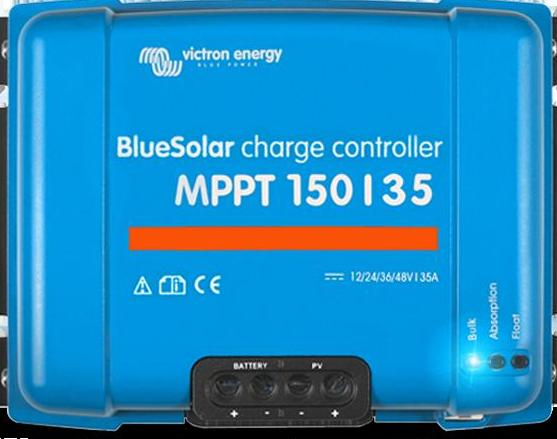Blue solar 150/35 Victron MPPT Regulators