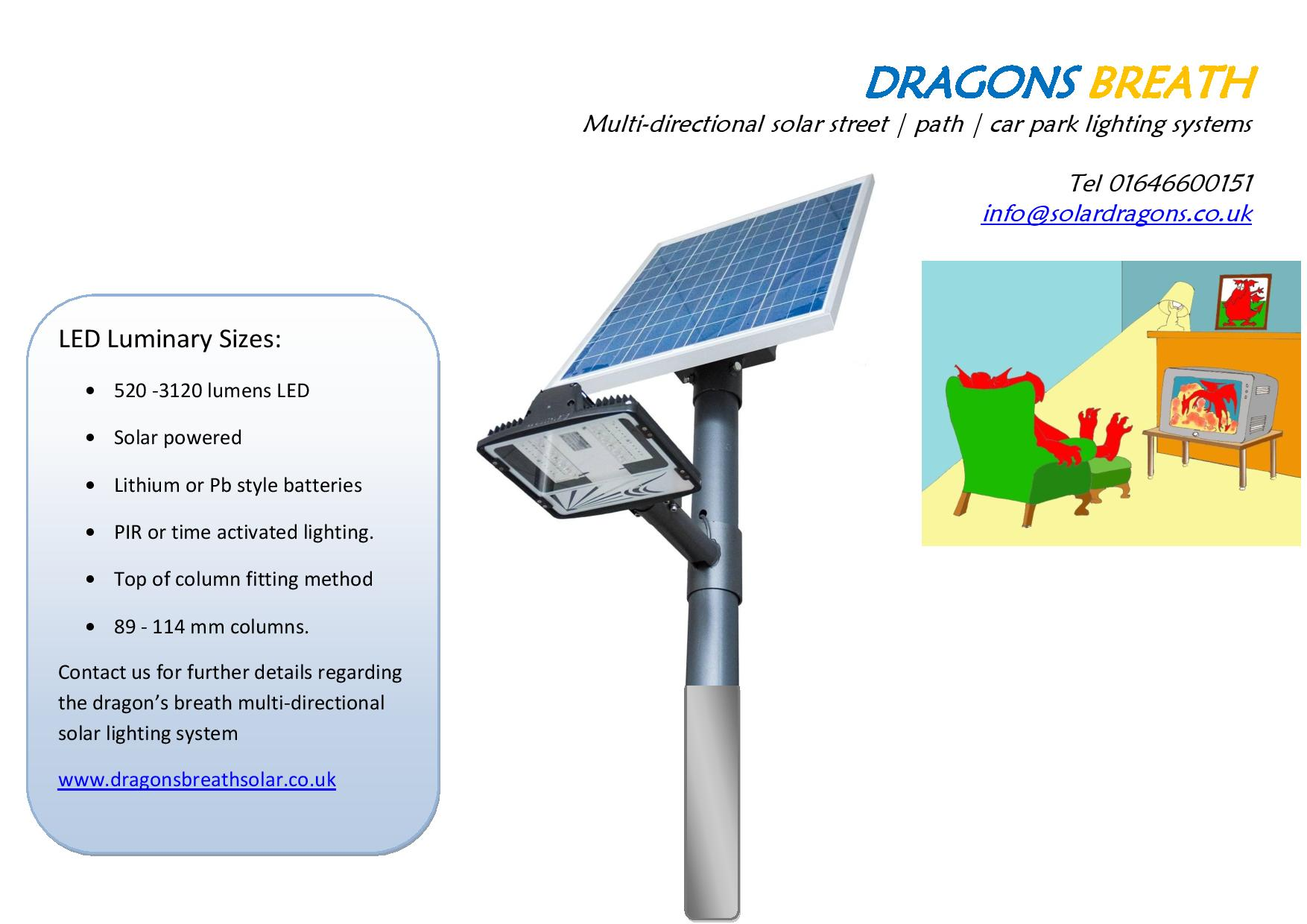 solar powered lighting systems