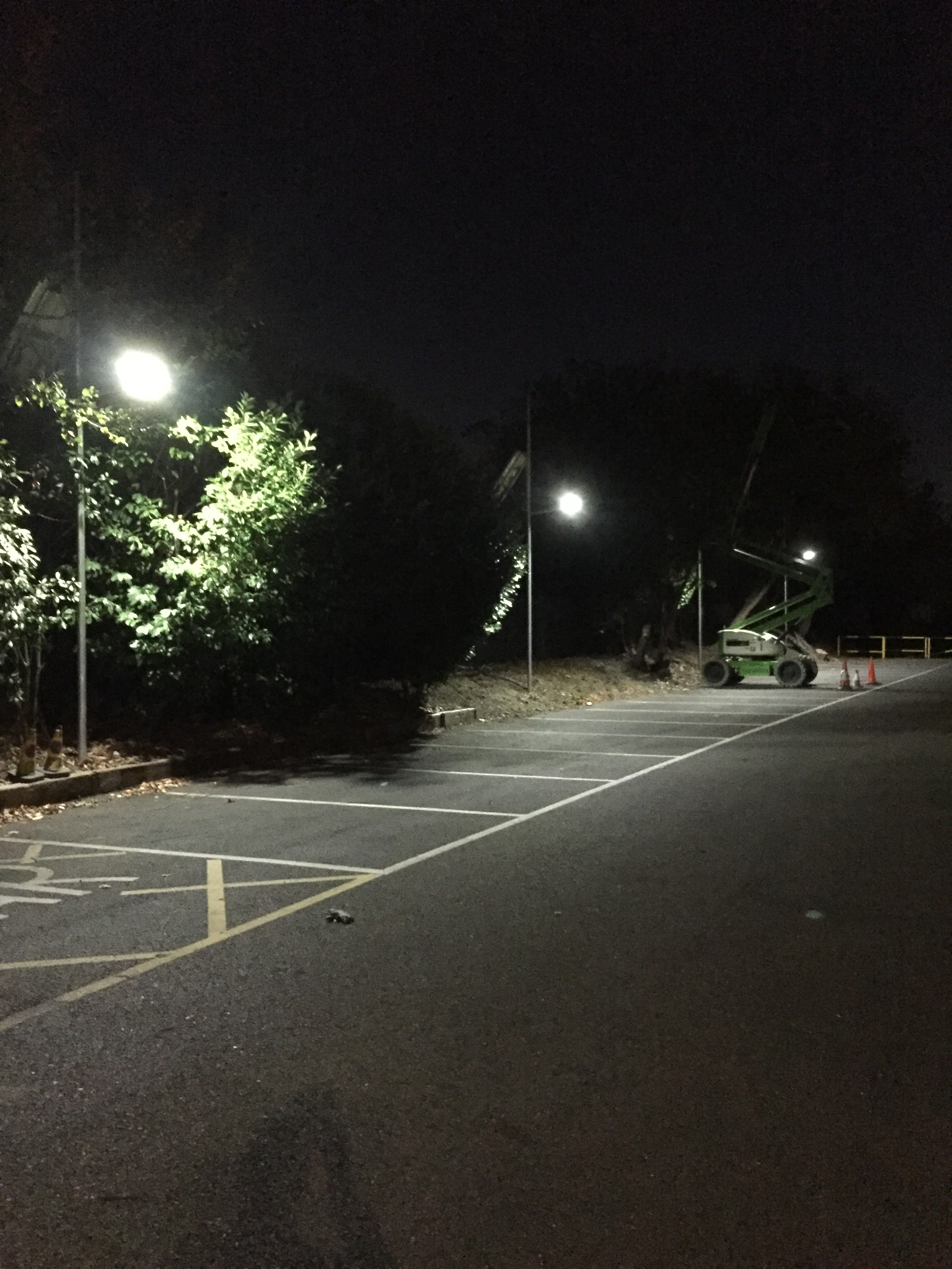 Car park solar lighting systems.