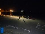 Solar powered lighting for parks