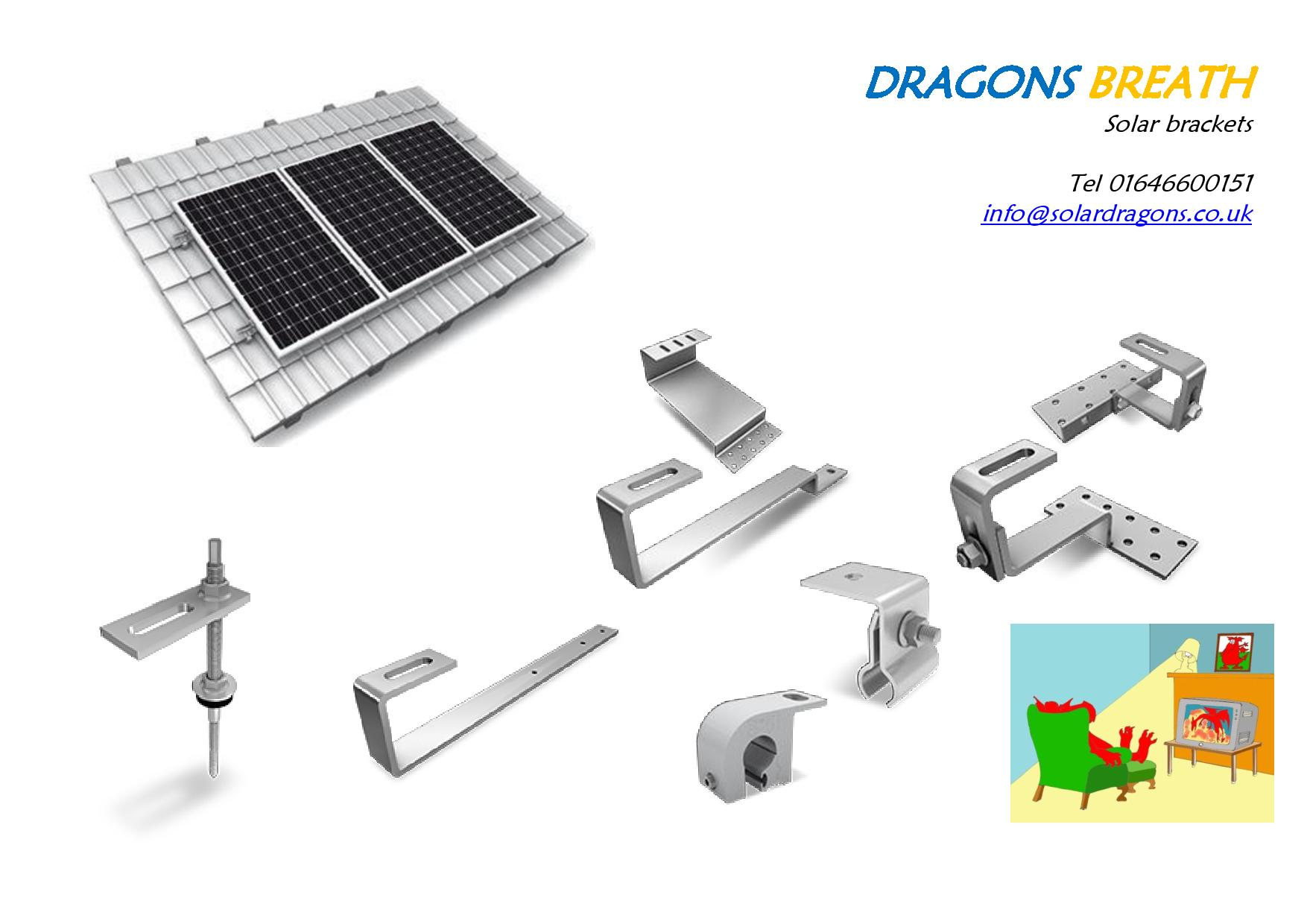 Solar Roof Fixings Solar Fixing Components Pv Fixings