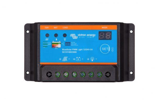PWM light caravan solar regulator