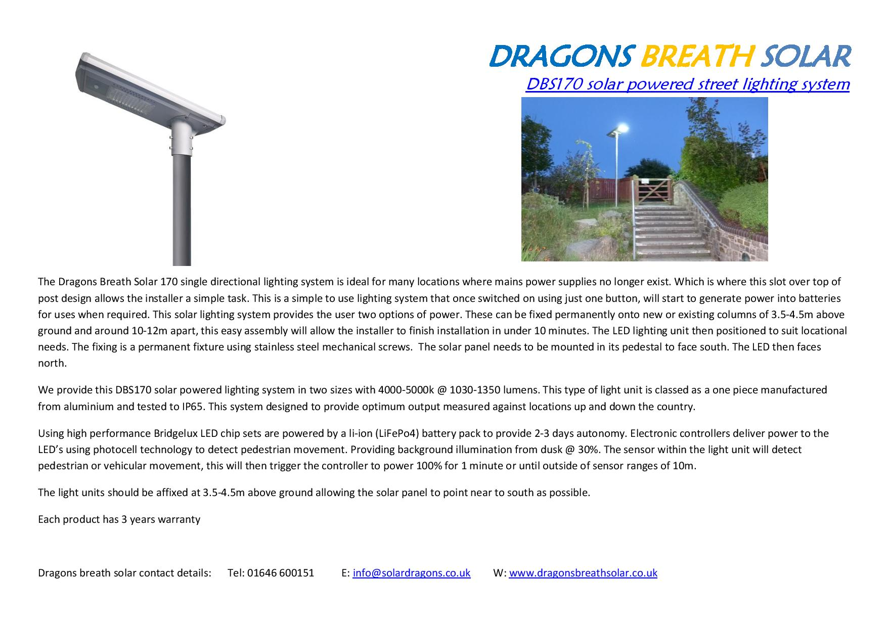 Solt over top of existing column solar lighting system