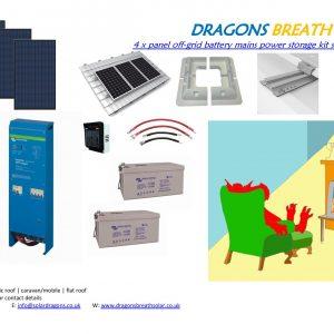24v Off-Grid Solar Kit