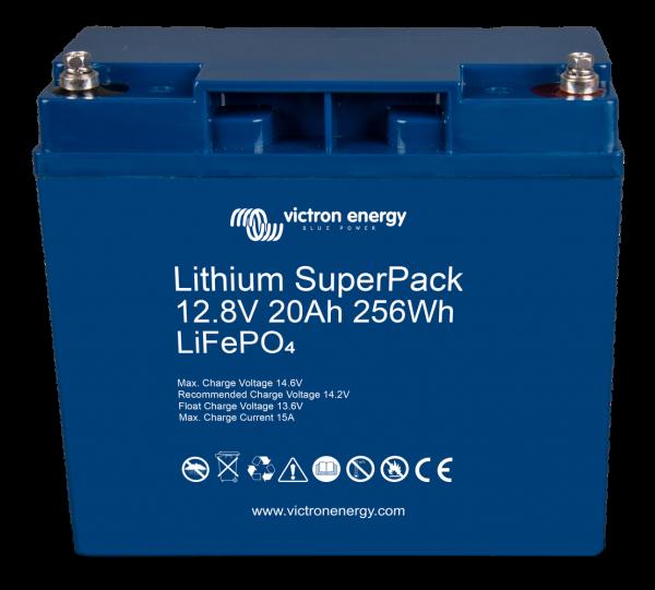 LiFePo4 lithium SuperPack deep cycle LiFePo4 batteries