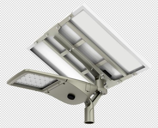 Solar multi-directional pre assembled light