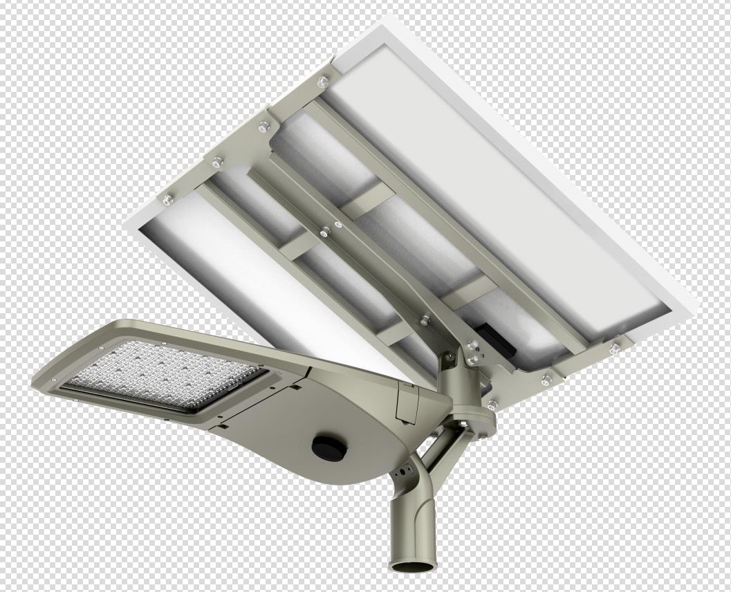 Solar multi-directional pre assembled light