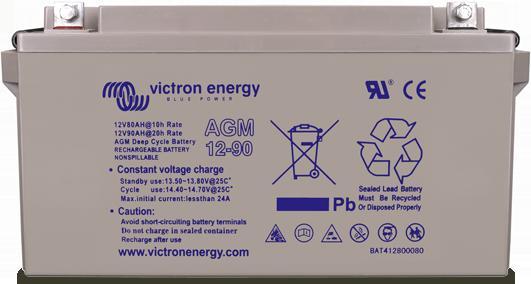 Victron 12v AGM deep cycle batteries