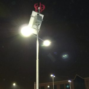 Solar street lighting questions