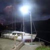 Marina Path Solar lighting system