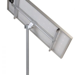 Solar panel sun tracker