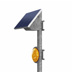 Solar safety security light