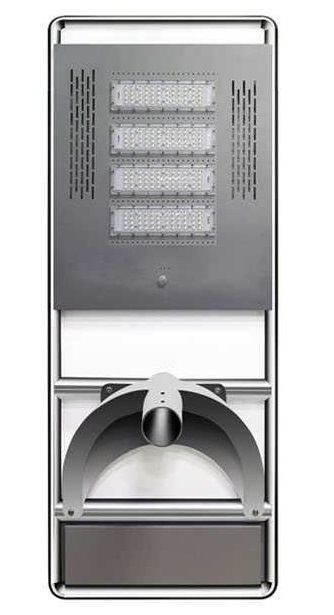 Extra large solar panel one piece lighting system
