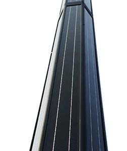Vertical solar lighting
