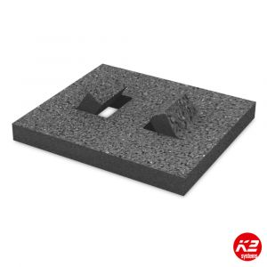K2 flat roof protection mat small