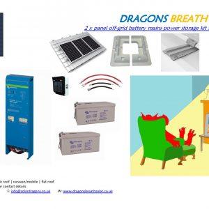 12v Off-Grid Solar Kit