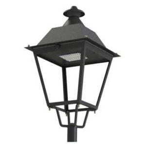 Victorian solar street light
