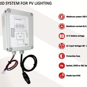 Solar hybrid light